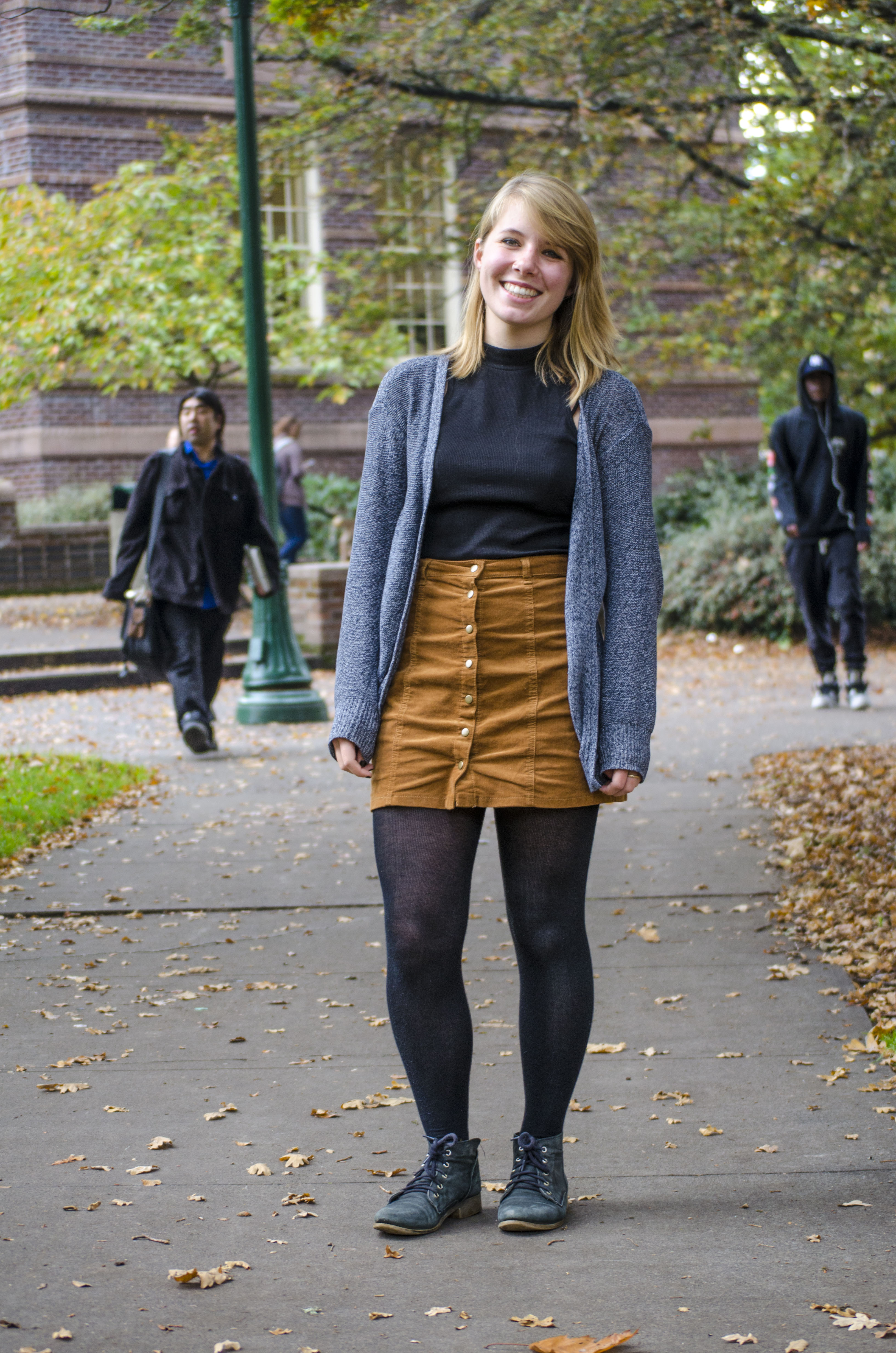 Jean Skirt And Tights 41