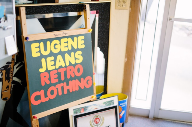 eugene jeans retro clothing